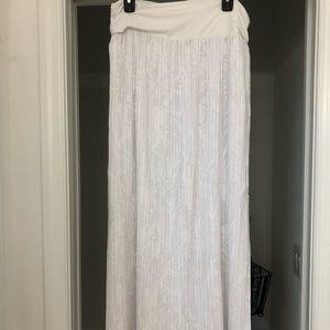 White House Black Market maxi skirt